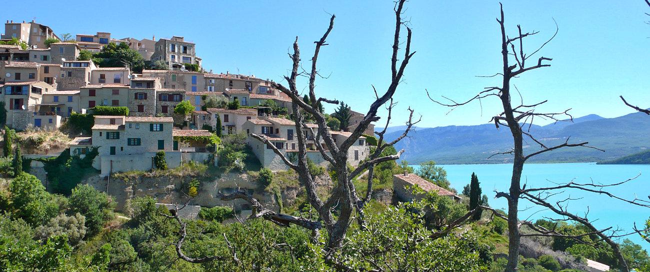 Il villaggio di Sainte Croix du Verdon