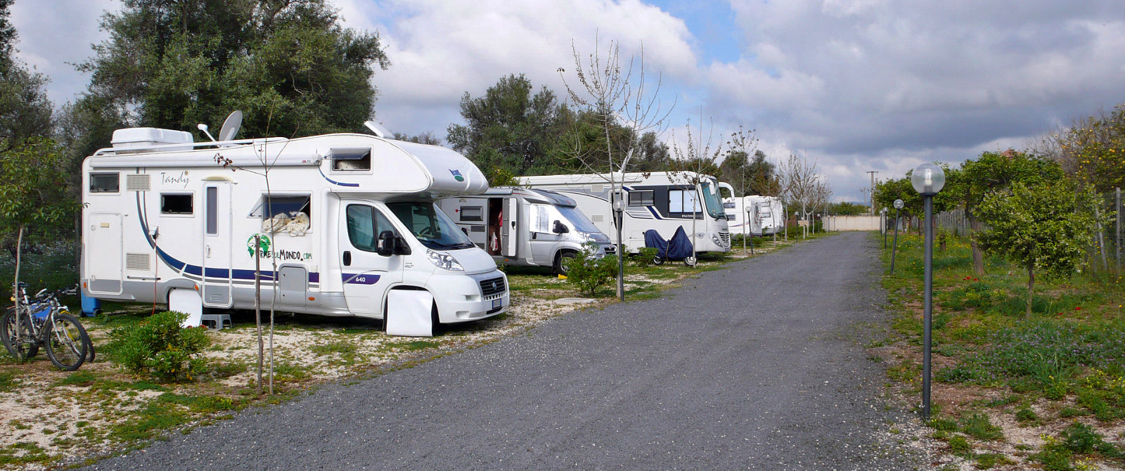 Area Camper Oasi Falconara, di Alberto Messina