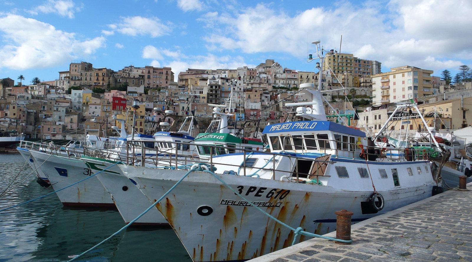 Porto di pesca a Sciacca