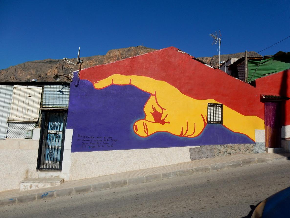 Murales del Museo di San Isidro, opera di Luis y Fran Cases