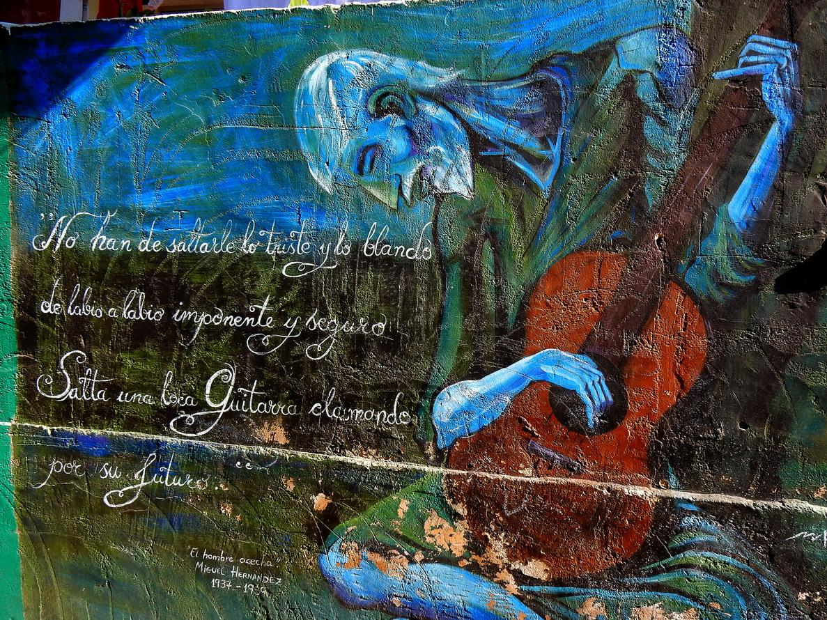 Murales del Museo di San Isidro, opera di Alfonso Leòn y Virus