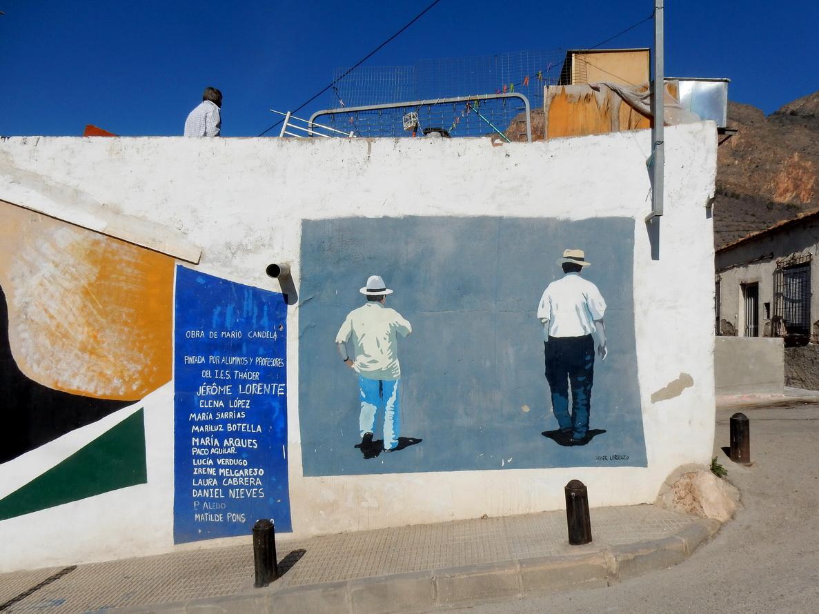 Murales del Museo di San Isidro, opera di Matilde Pons