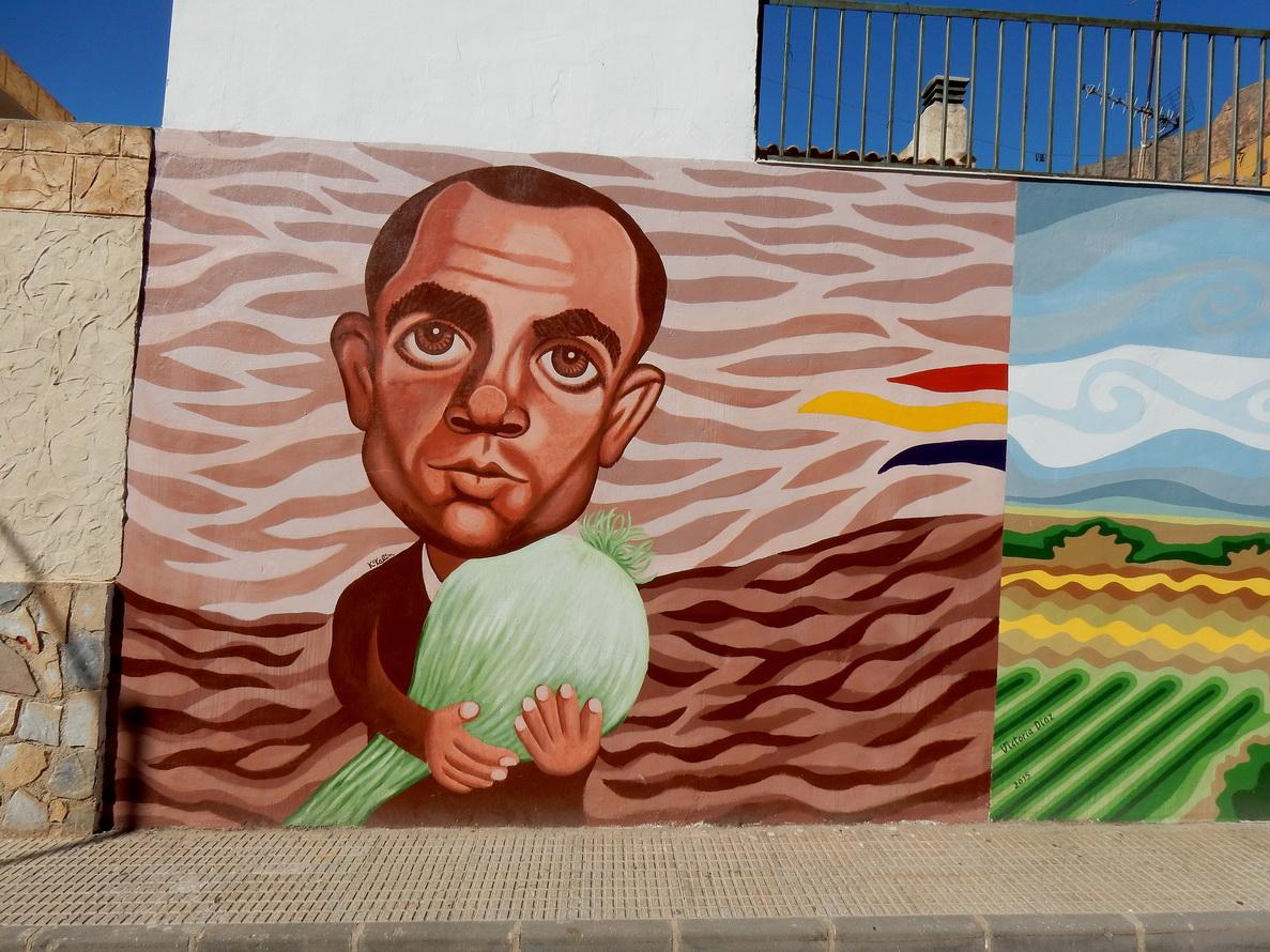 Murales del Museo di San Isidro, opera di Juan Castejòn