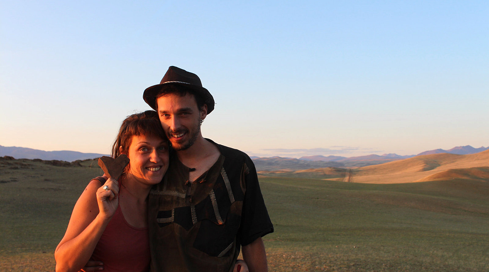 Davide e Francesca di Cinema du Desert