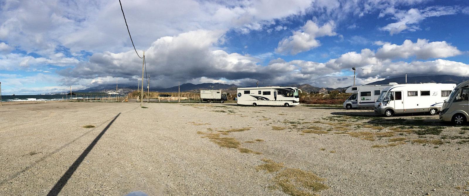 Sosta camper a Torrenueva