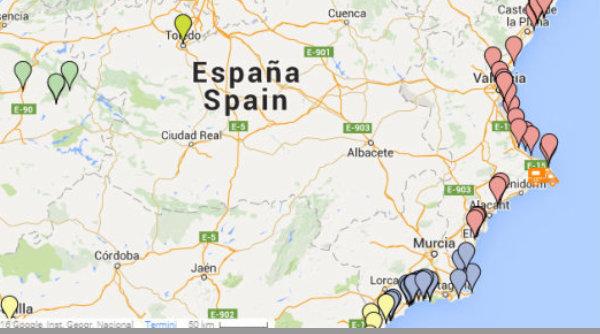 Cartina Spagna Benicassim.Le Soste Camper Per Fulltimers In Spagna Ormesulmondo