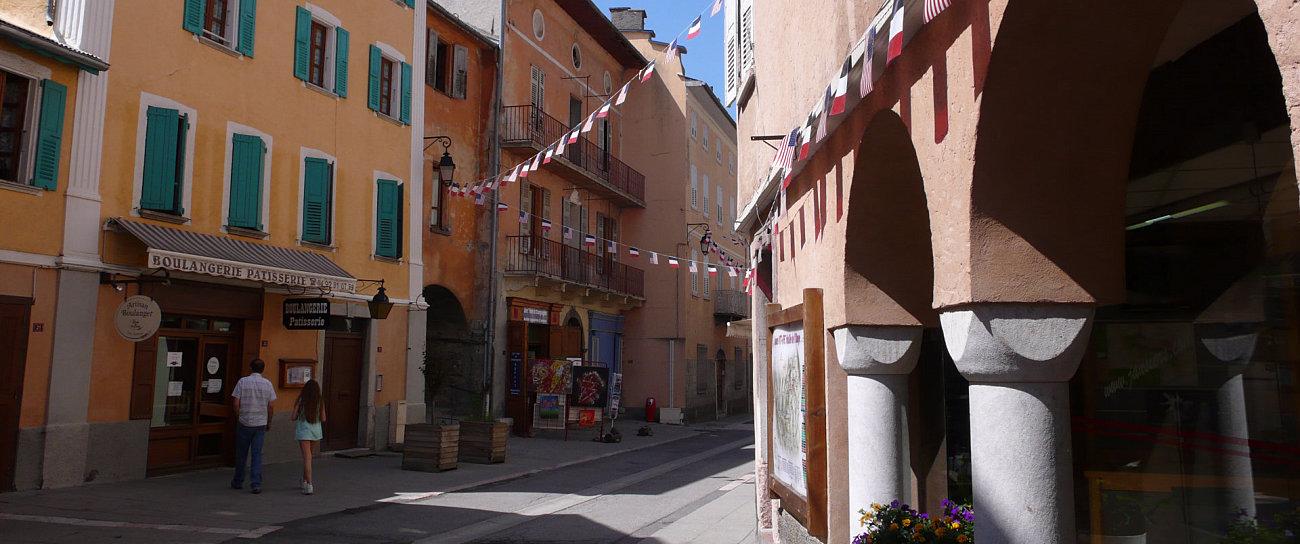 Il centro storico di Jausier
