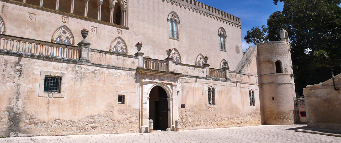 L'ingresso del Castello di Donnafugata