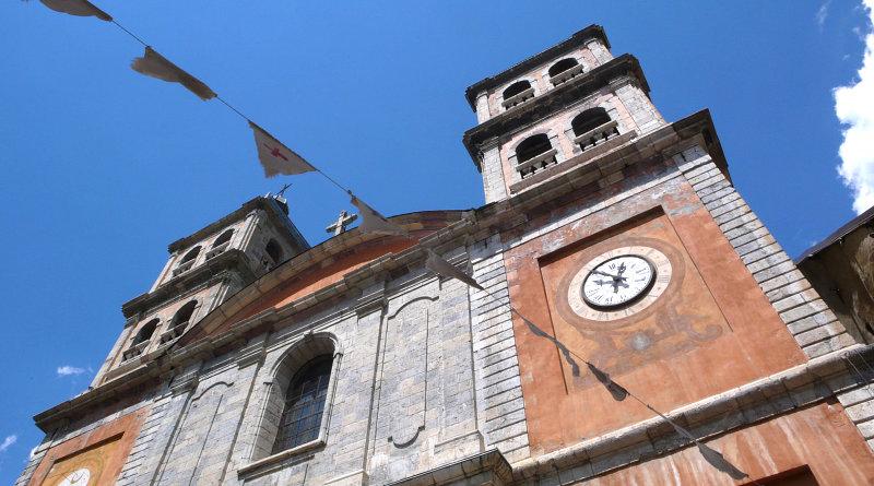 Facciata del Duomo di Briancon