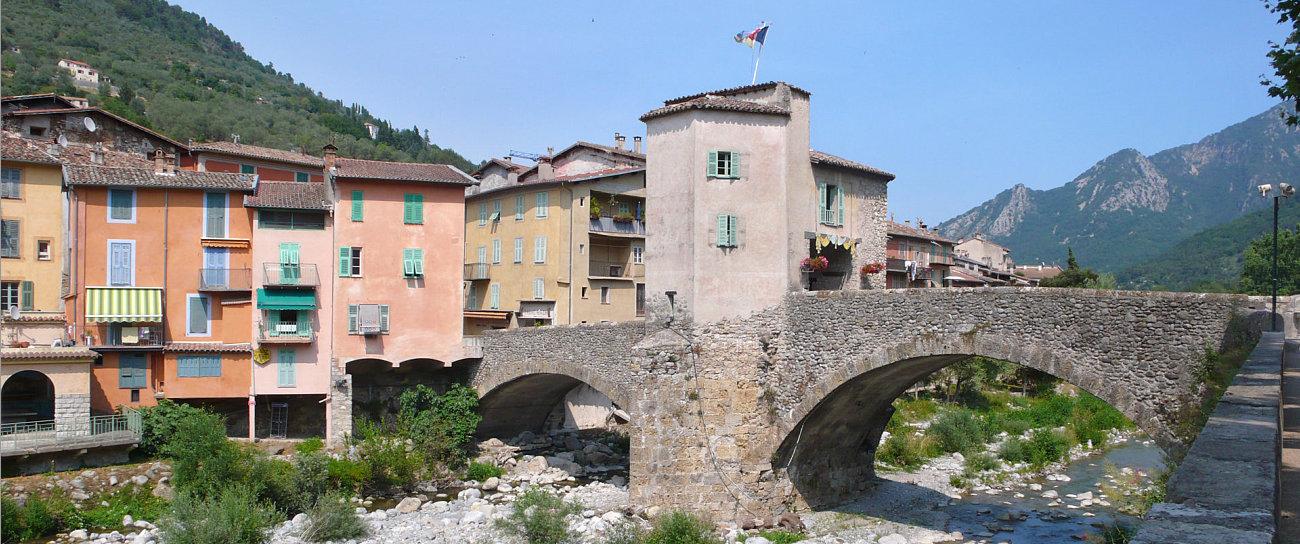 Il ponte vecchio di Sospel