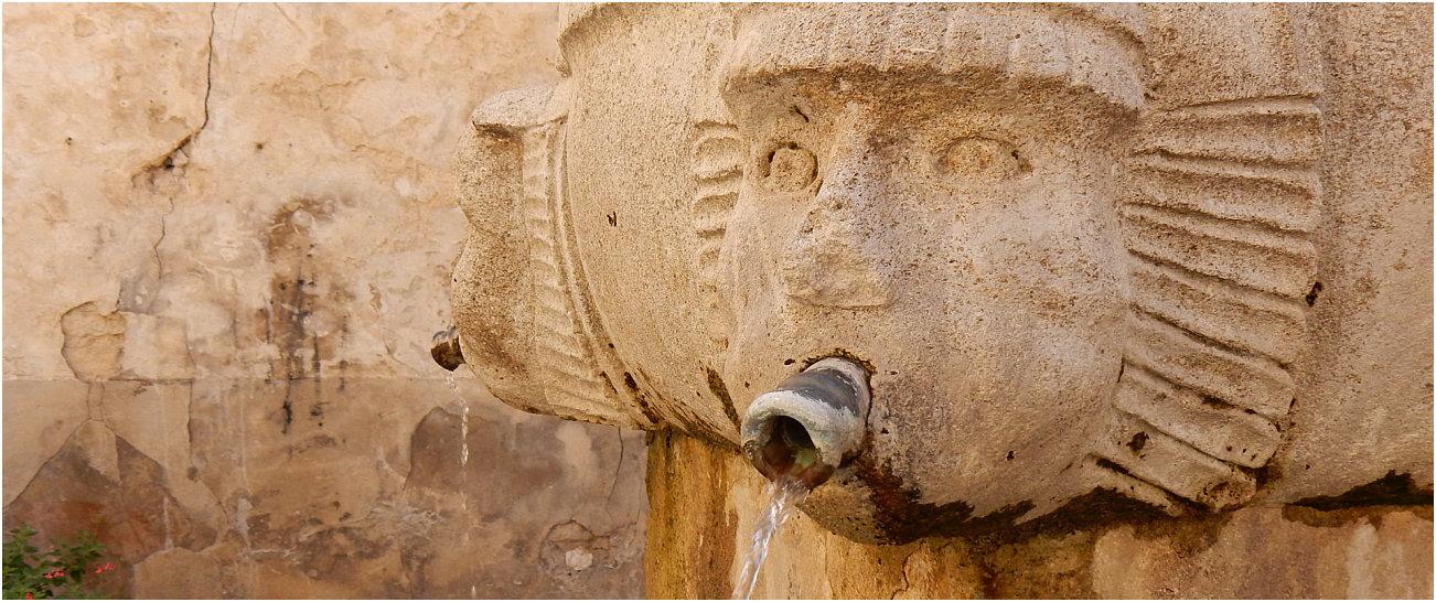 Una fontana nel cuore di Malaucene
