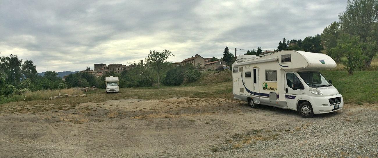 Sosta camper gratuita a Rosans
