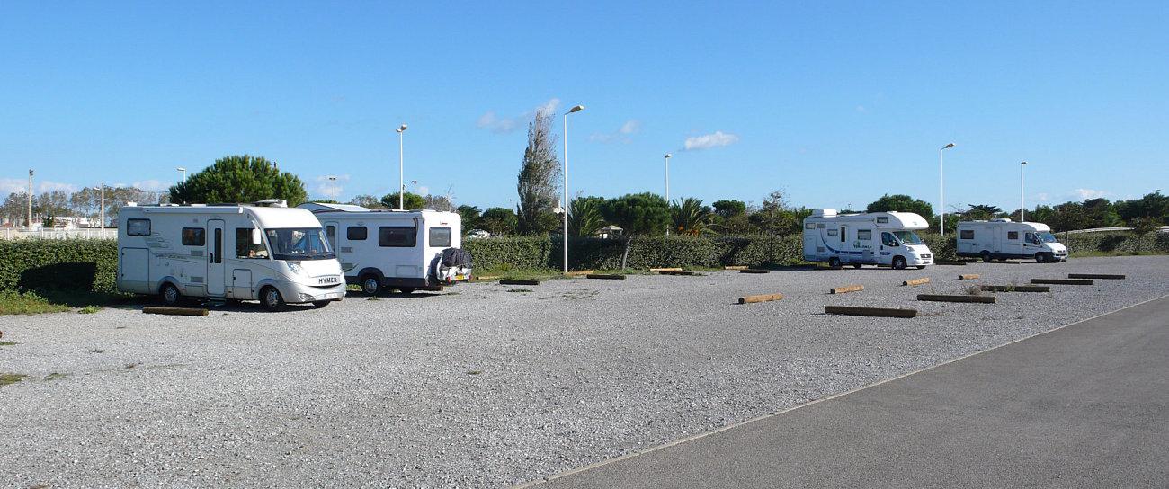 Sosta camper a Port la Nouvelle