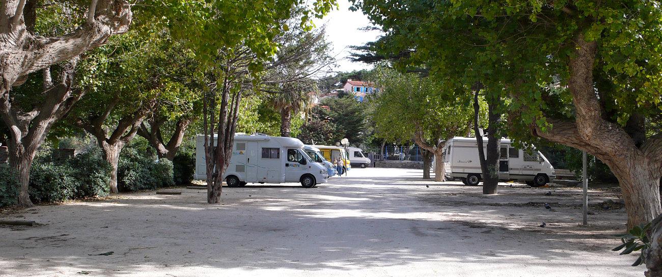 Sosta camper a Port Vendres