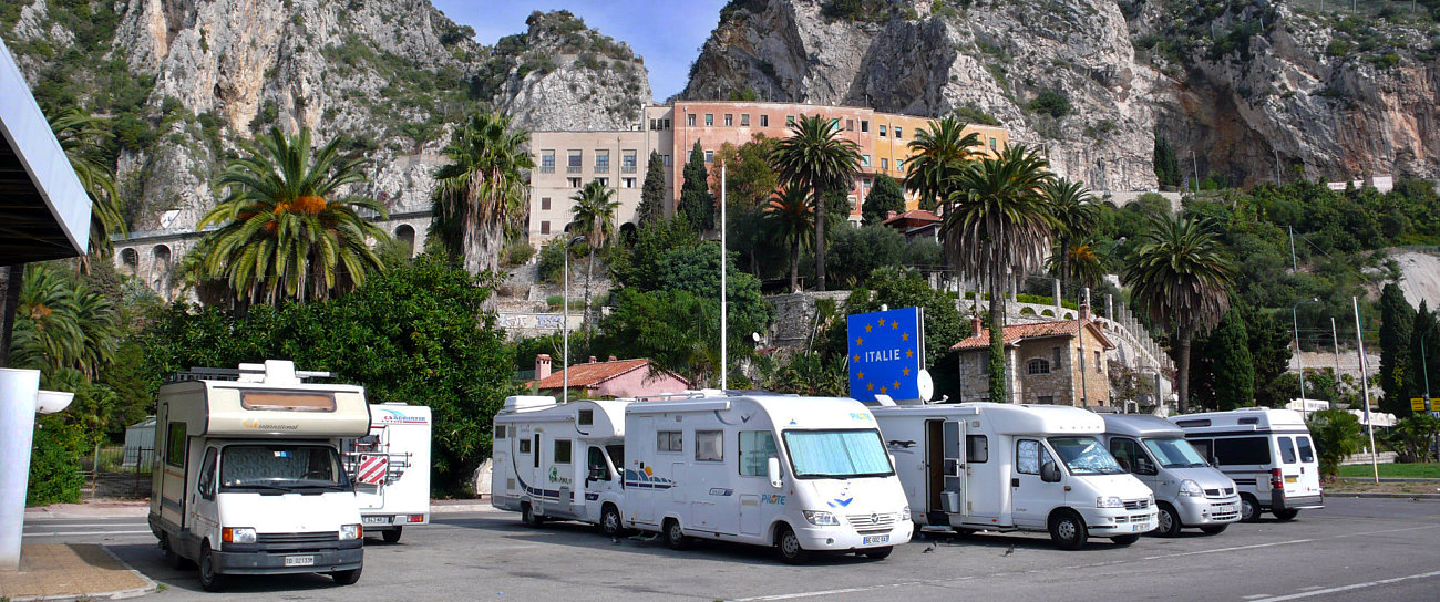 camper sosta libera frontiera italia francia