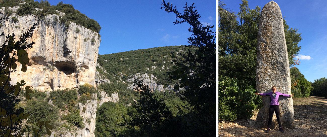 amelia gorges aiguillon menhir pierre plantee
