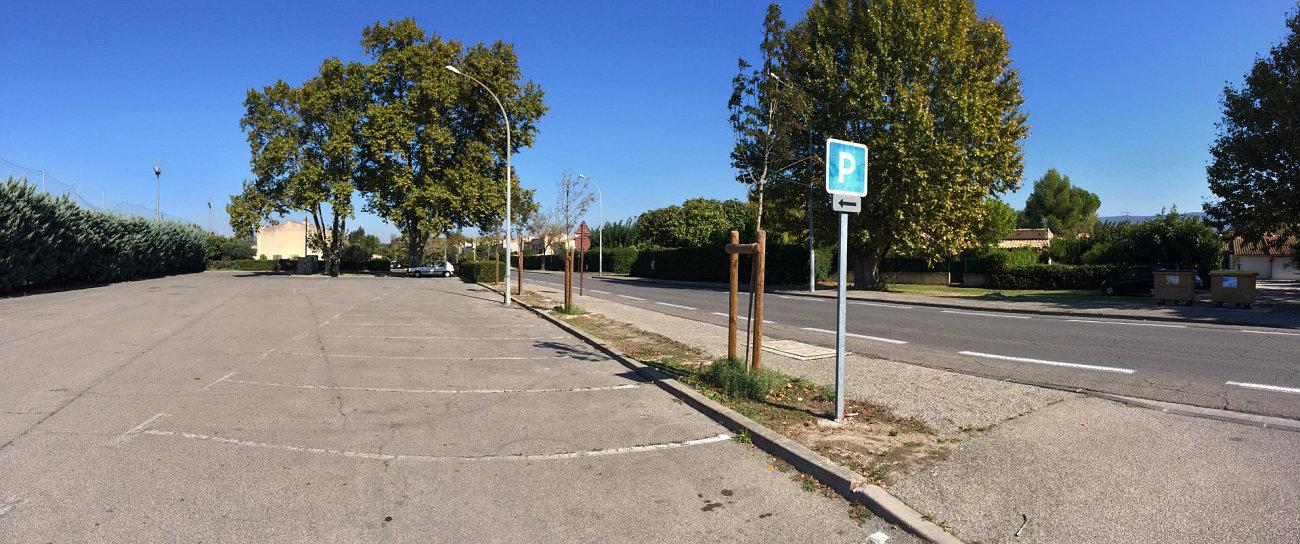 Parcheggio autorizzato a Isle-sur-Sorgue