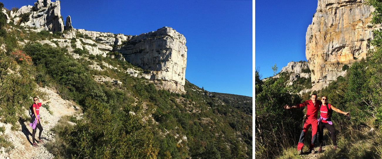 Escursione ai mulini de la Foux dal versante nord del Cirque du Navacelle