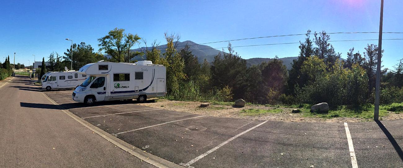 Sosta camper a Le Boulou