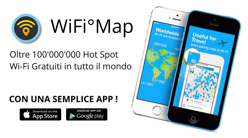 Navigare gratis in rete quando siamo in viaggio: scopri come con Wifi-Map
