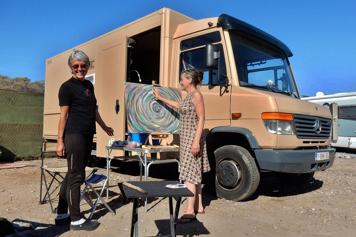 Sosta libera in camper a Cañada de Gallego ( Murcia )