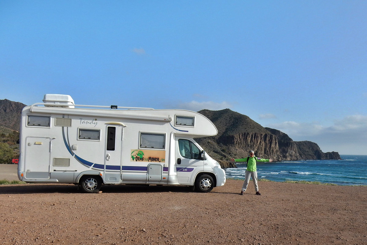 Il Parco Naturale di Cabo de Gata-Nijar. Scopri dove fare sosta libera in camper
