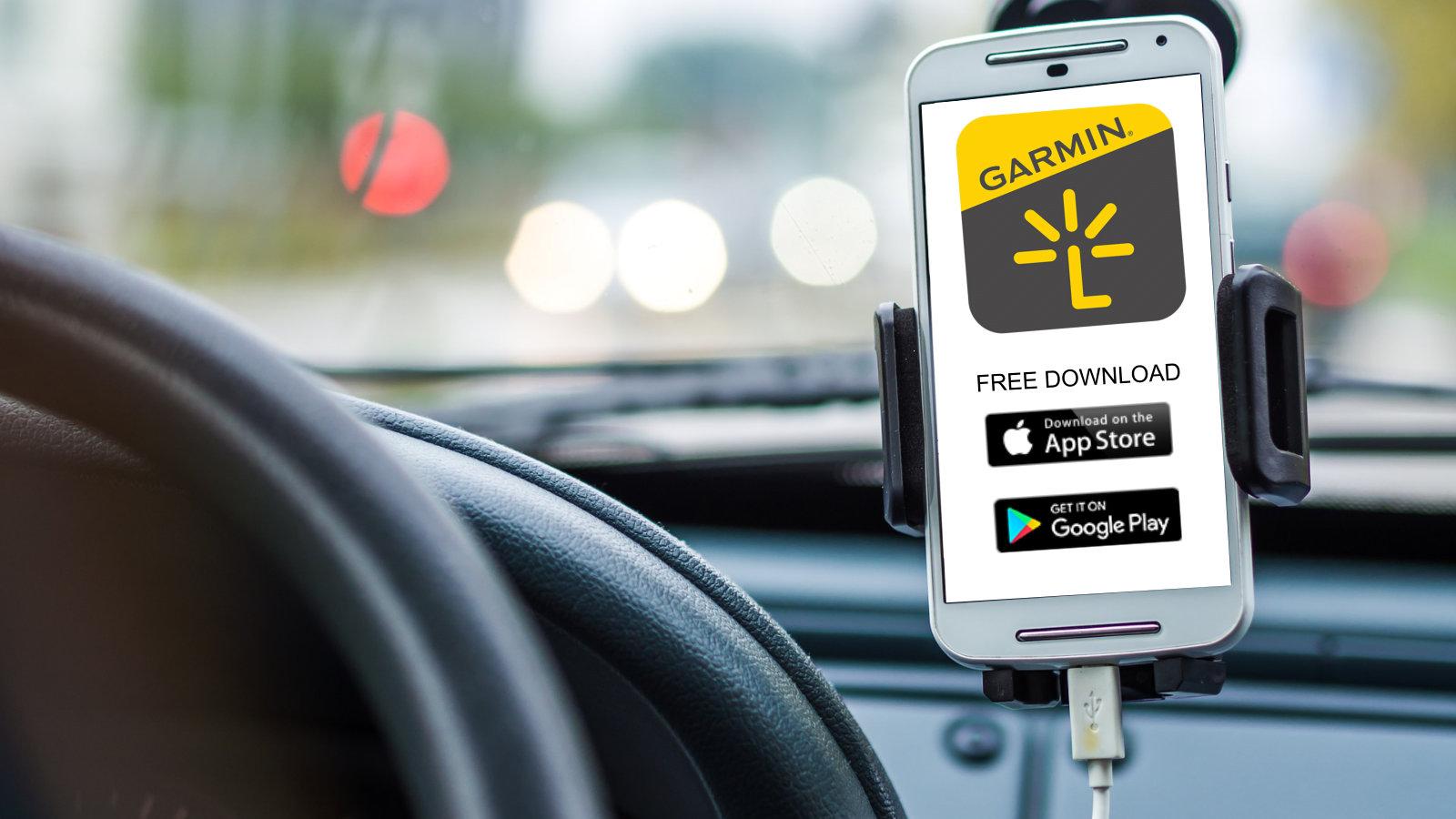Applicazione gratuita di Garmin Smartphone Link