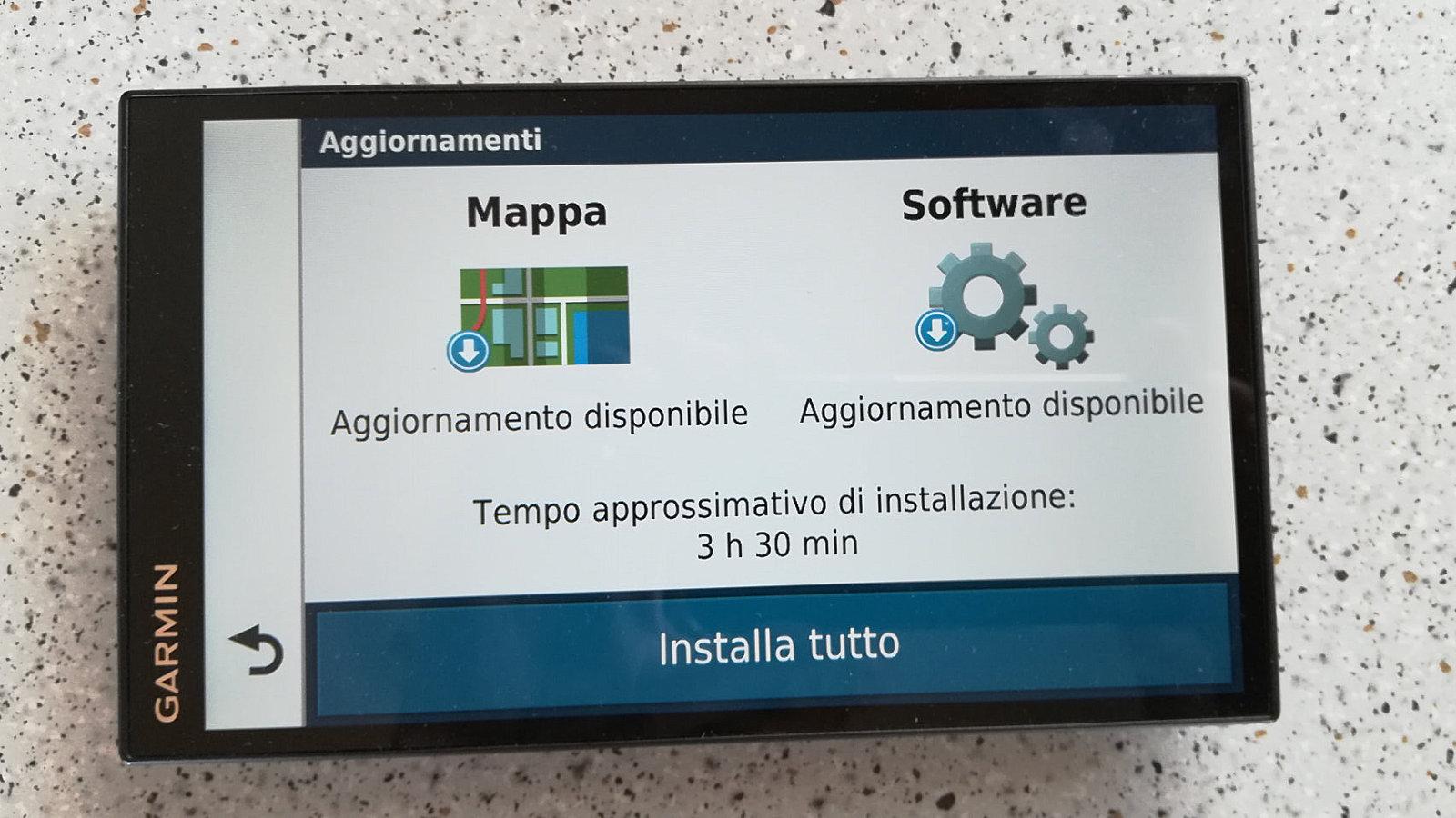 Navigatore Camper Garmin Aggiornamenti Mappa Software Featured