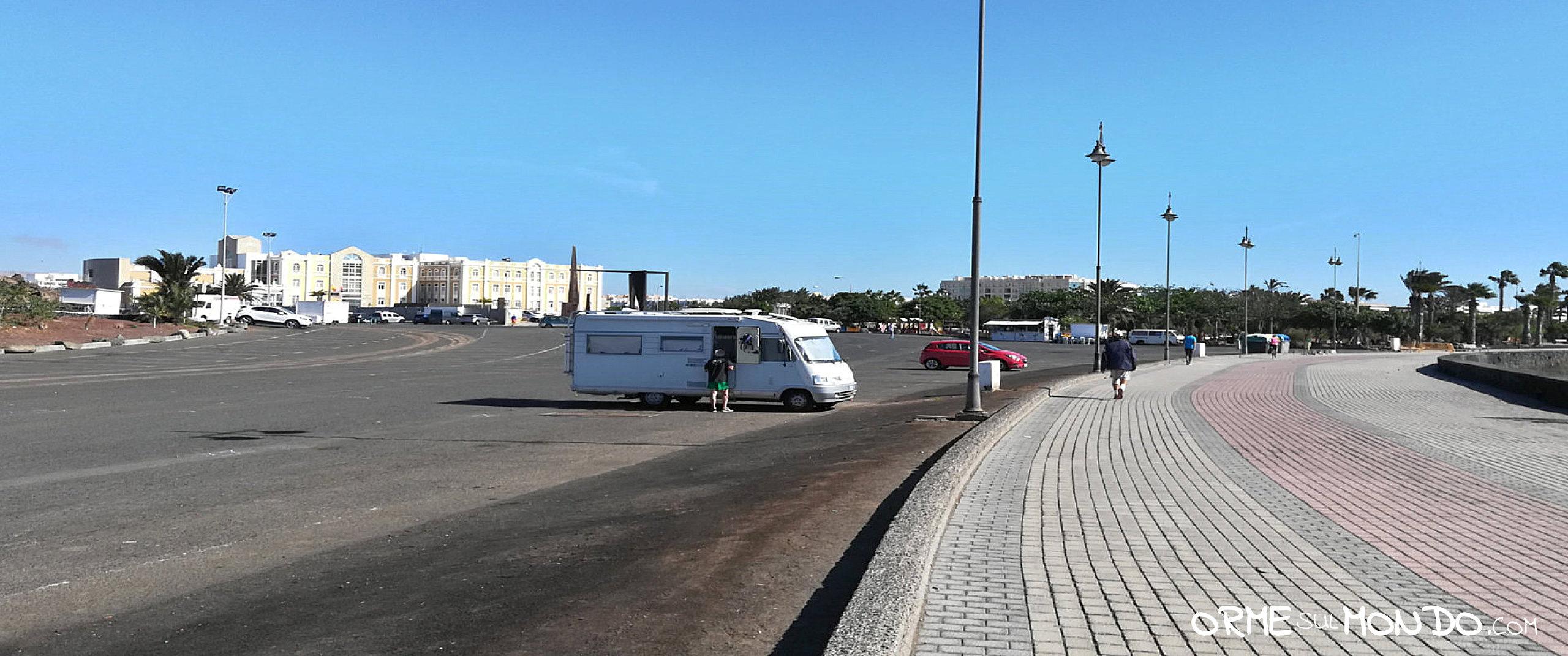 parcheggio del Recinto Ferial di Arrecife