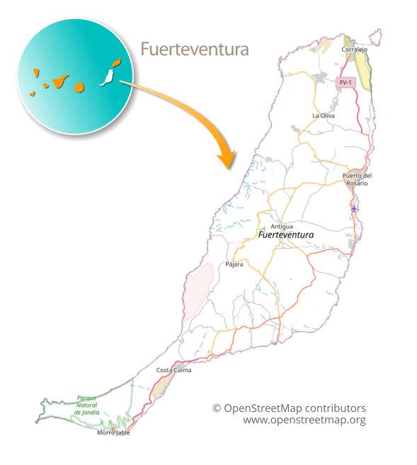 Cartina Spagna Fuerteventura.Isole Canarie In Camper L Unica Guida Alla Sosta Libera Ormesulmondo