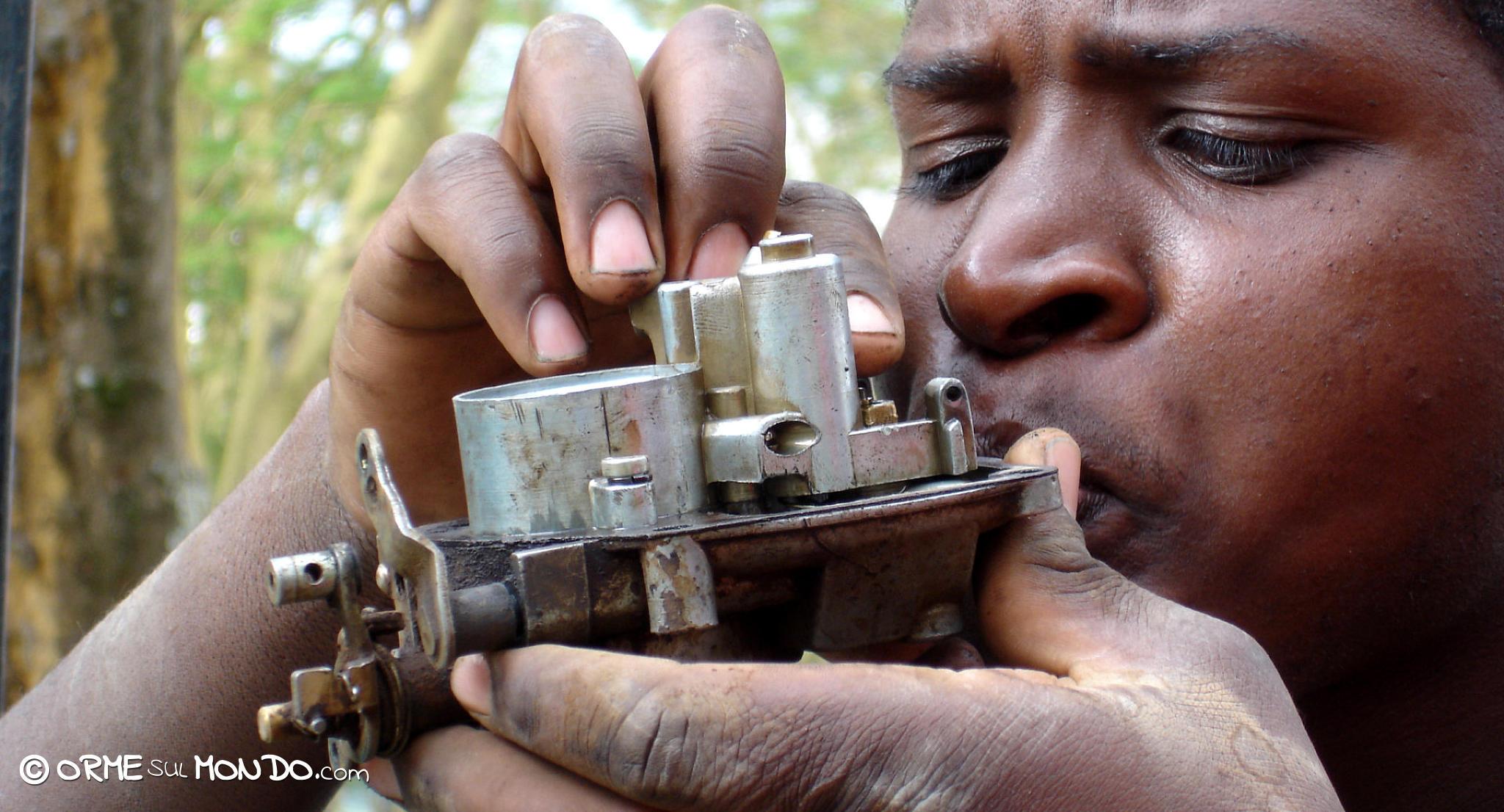 carburatore riparazione motore