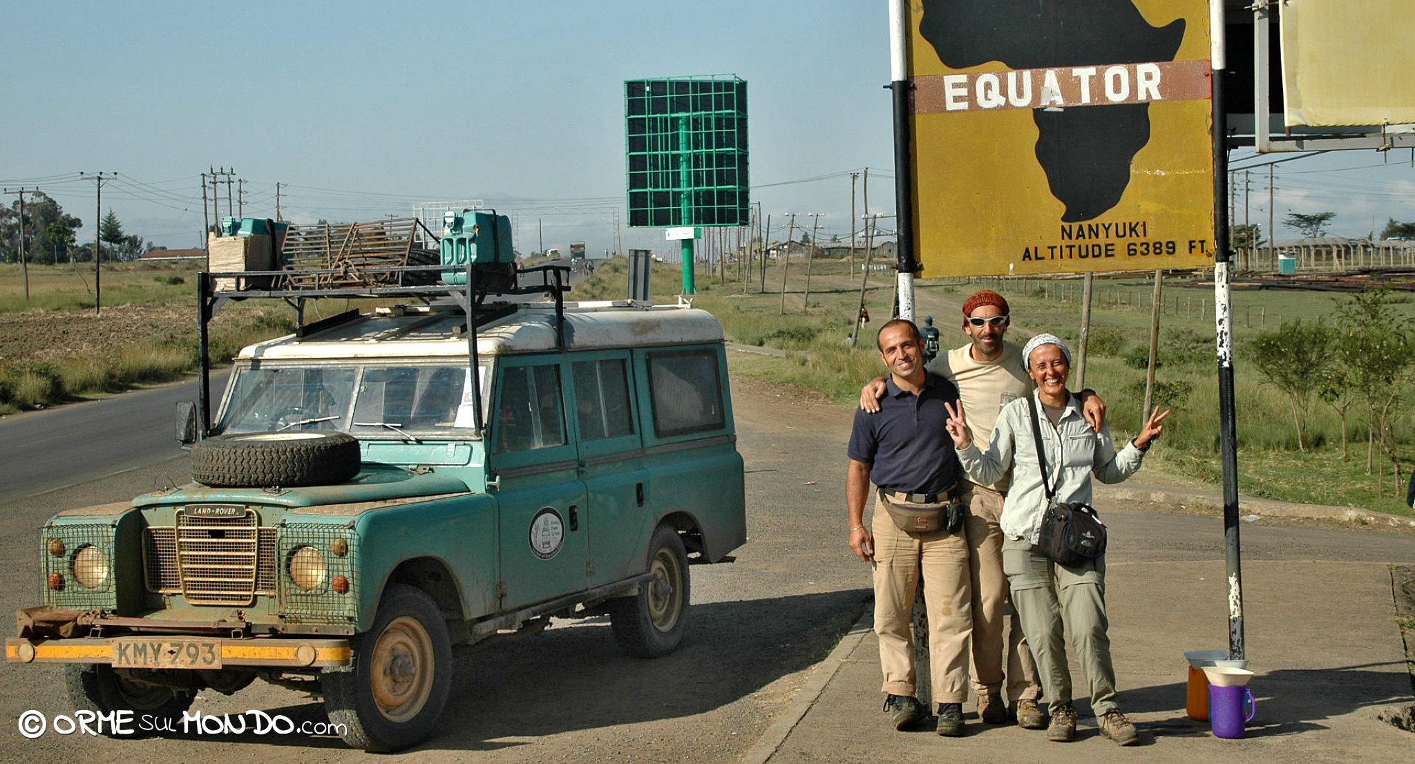 landrover equatore amici africa kenya