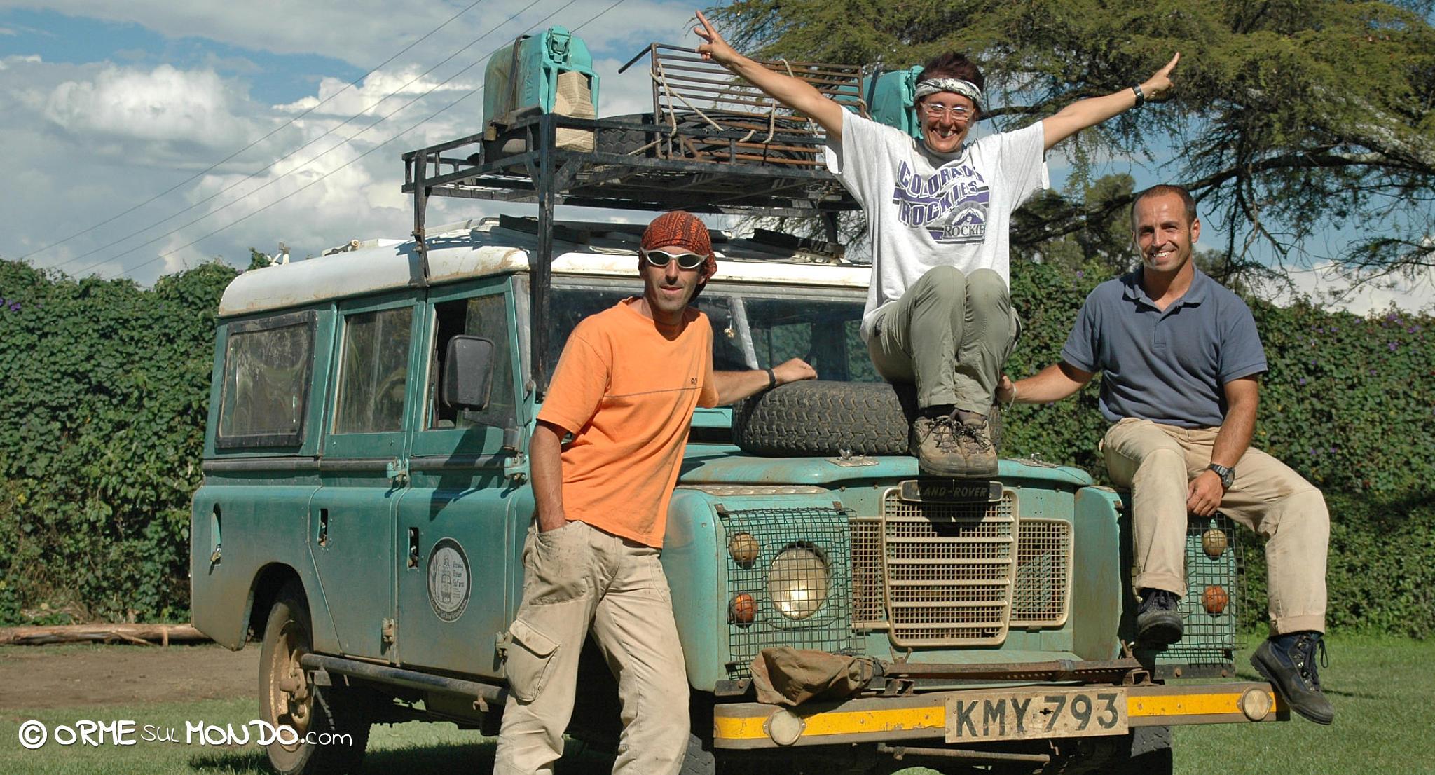 landrover fuoristrada amici rovingrovers kenya