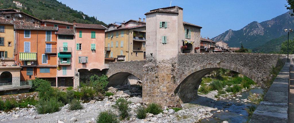 Sospel e il suo ponte veccio fortificato