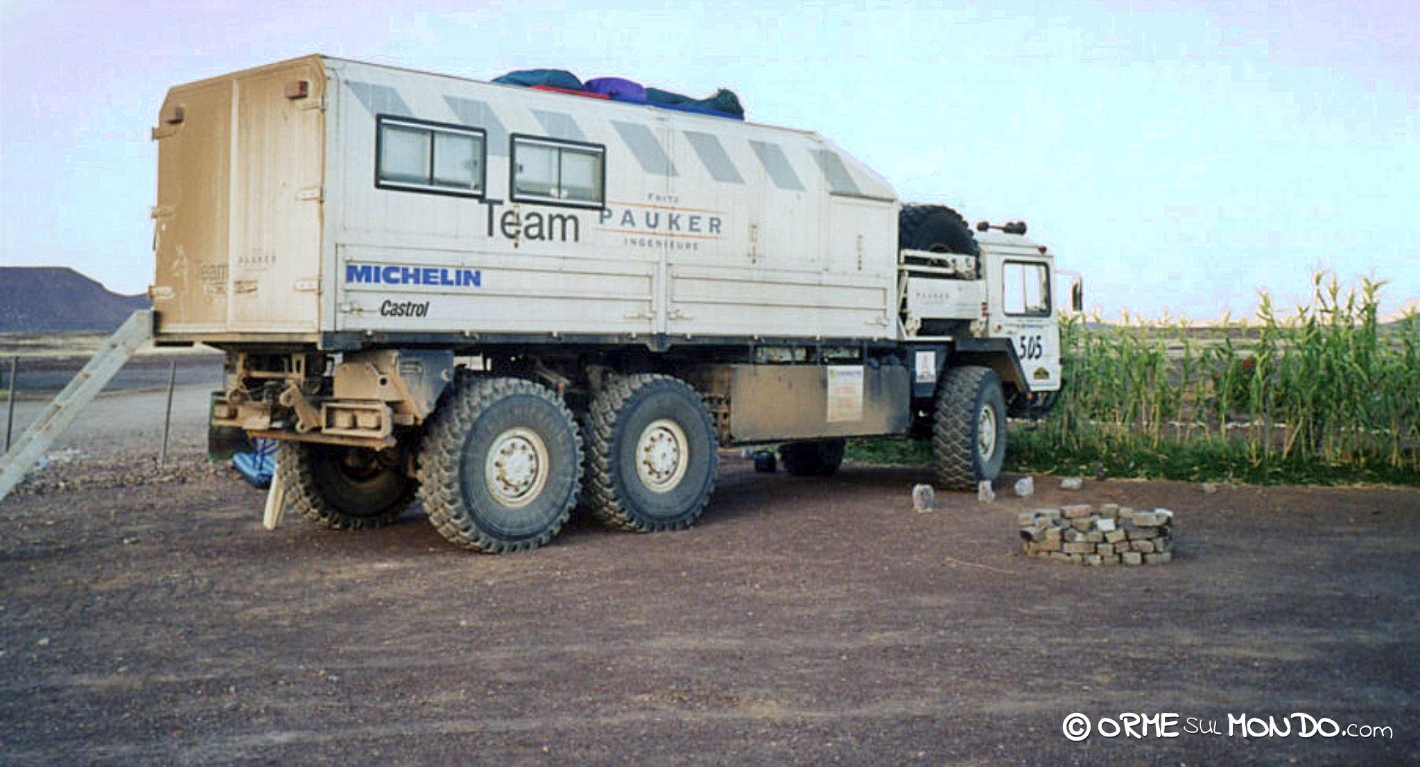 camion fuoristrada namibia