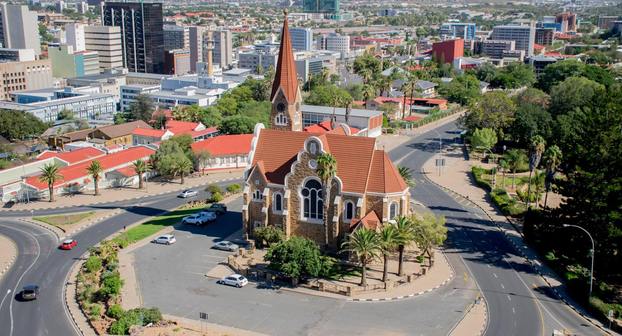 La chiesa luterana Christuskirche a Windhoek