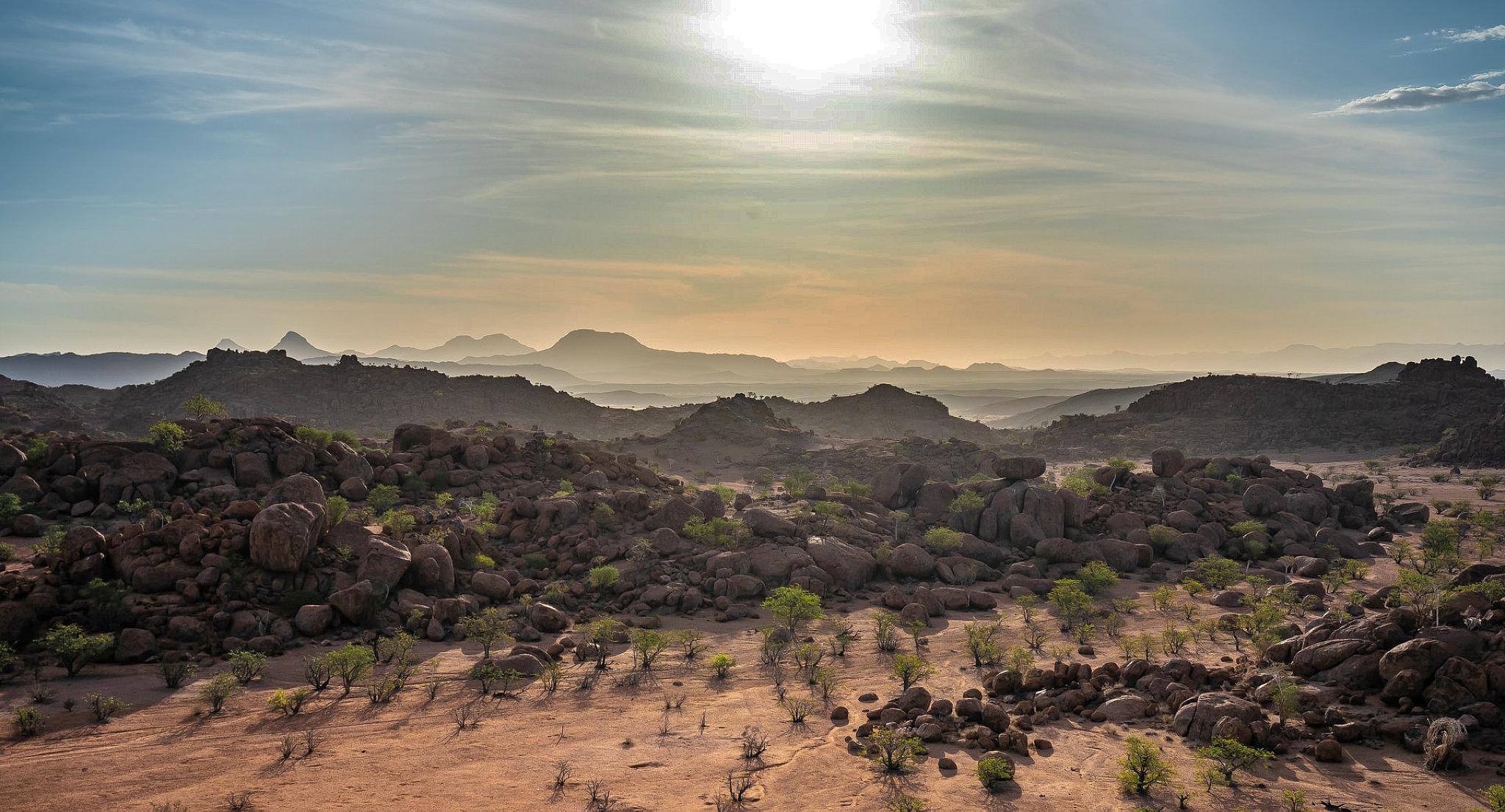 Panorama sul Damaraland