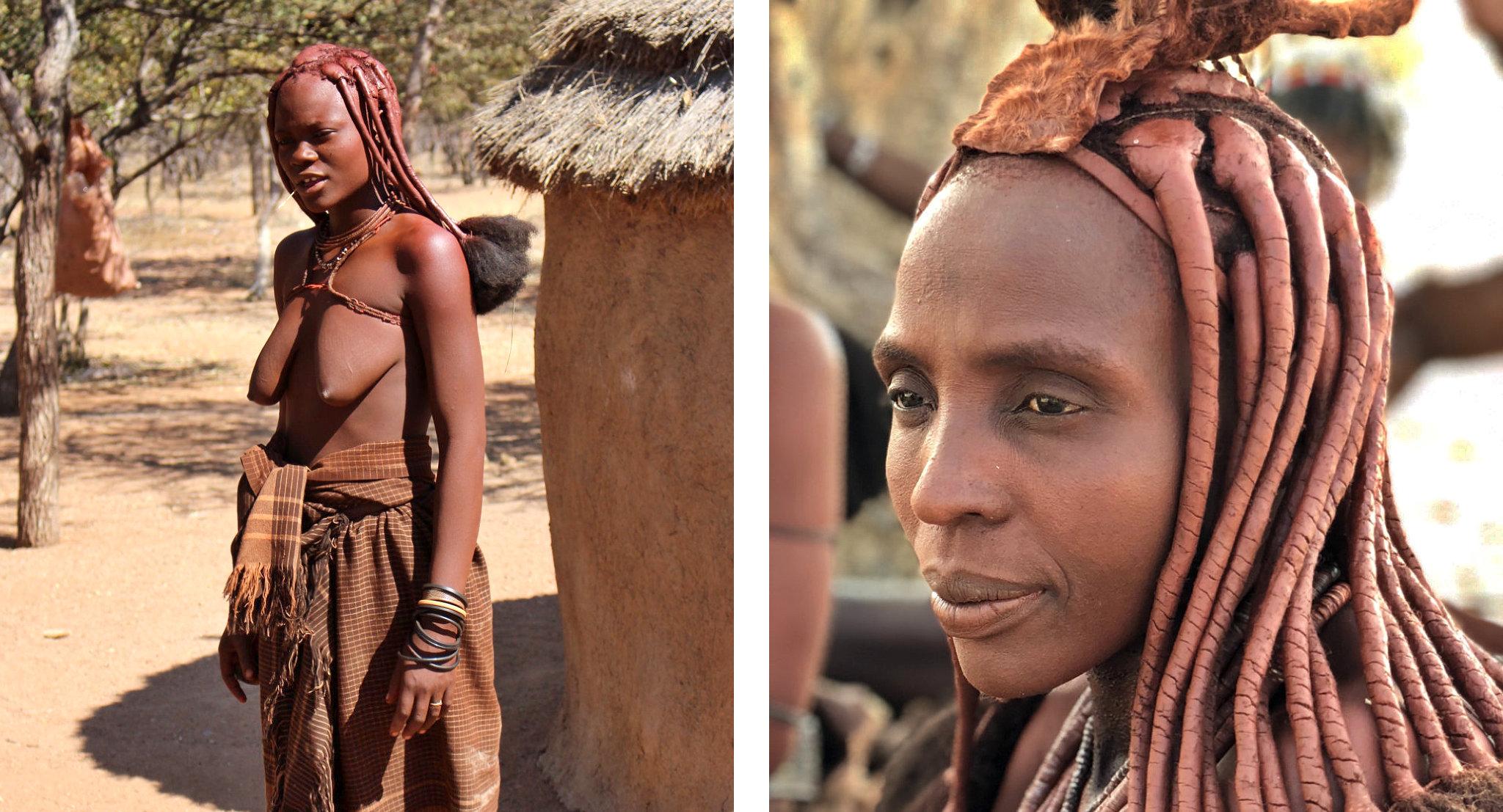 Ritratti di donne Himba