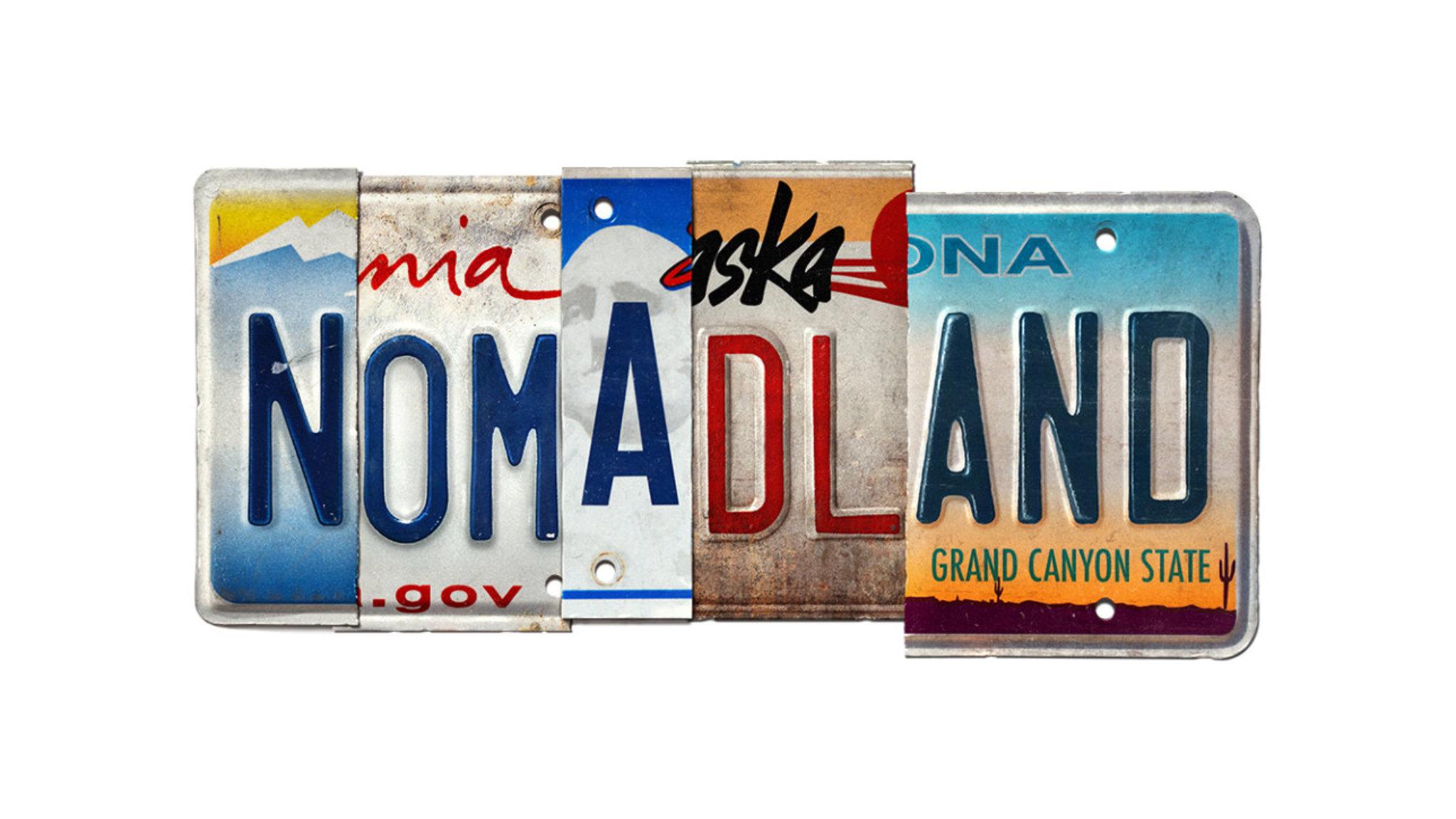 nomadland targa poster movie