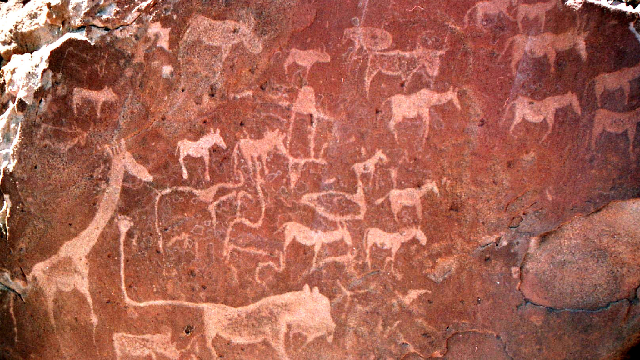 pitture rupestri twyfelfontein namibia featured